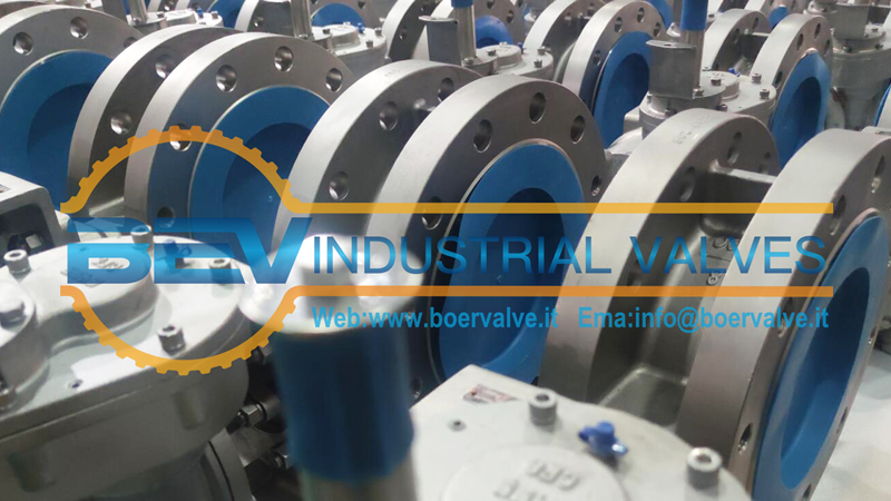 ASTM A995 5A Industrial Butterfly Valve